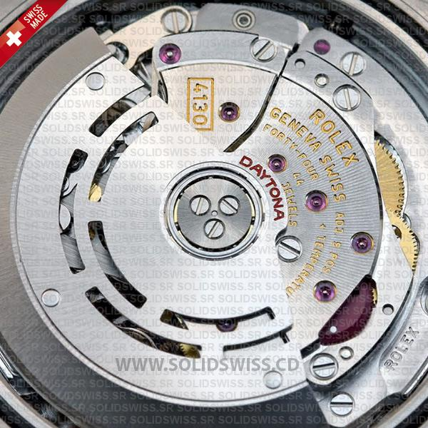 4130 Rolex Swiss Clone Movement Solidswiss cd