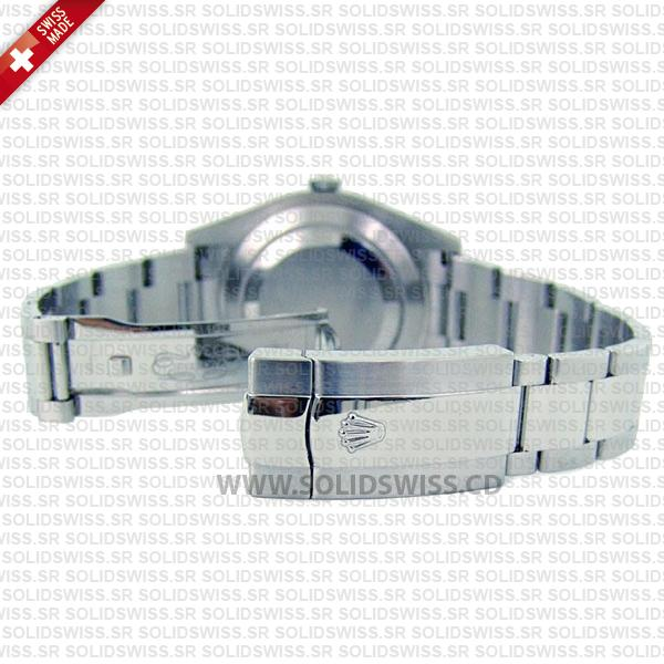 Rolex Datejust II Steel 41mm Blue Dial Smooth Bezel