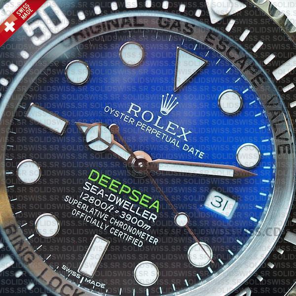 Rolex Sea-Dweller Oyster Perpetual 904L steel 44mm Watch
