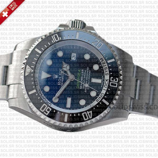 Rolex Sea-Dweller Oyster Perpetual 904L steel 44mm Swiss Replica Watch