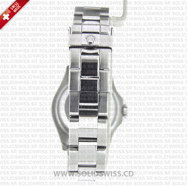 Rolex Yacht-Master 904L Steel Platinum 29mm Silver Dial