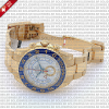 Rolex Yacht-Master II 18k Yellow Gold White Dial