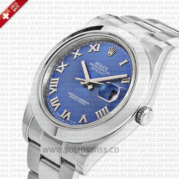 Rolex Datejust II Steel 41mm Blue Dial 116300