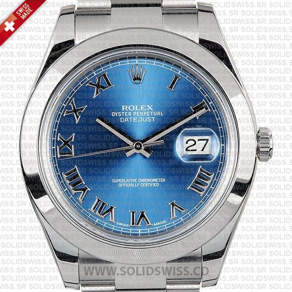 Rolex Oyster Perpetual Datejust II 116300 904L Steel