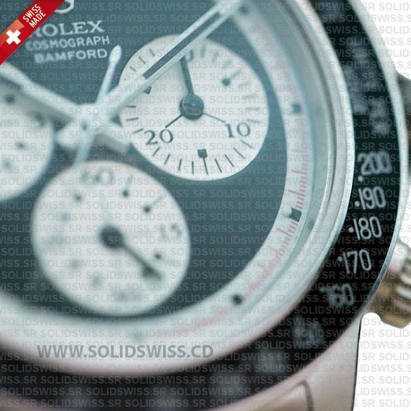 Rolex Daytona Bamford Newman Black Dial Steel 40mm Swiss replica