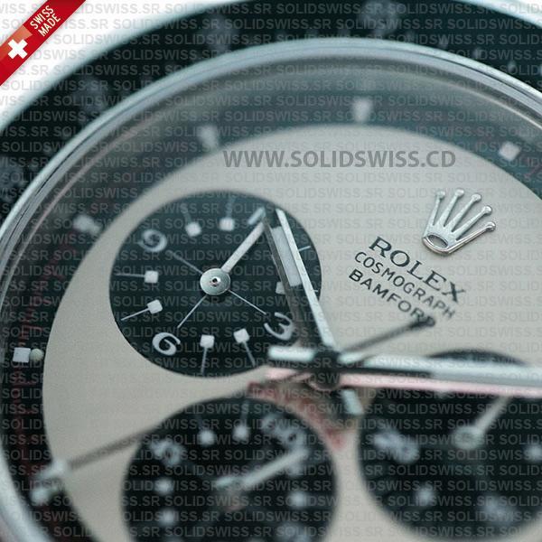 Rolex Daytona Paul Newman Panda Face White Dial with Black Subdials