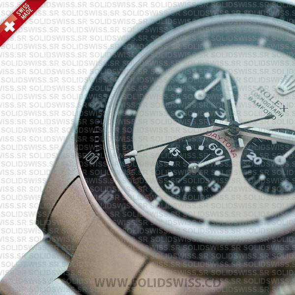 Rolex Daytona Paul Newman Panda Face White Dial 40mm