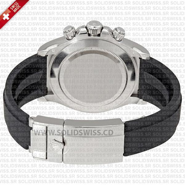 Rolex Cosmograph Daytona 18k White Gold Silver Dial