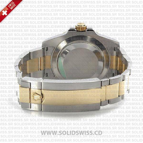 Rolex Submariner 2-Tone Blue Diamonds Ceramic