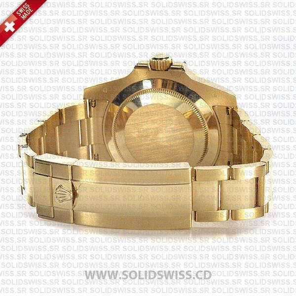 Rolex Submariner 18k Yellow Gold Black Dial Replica