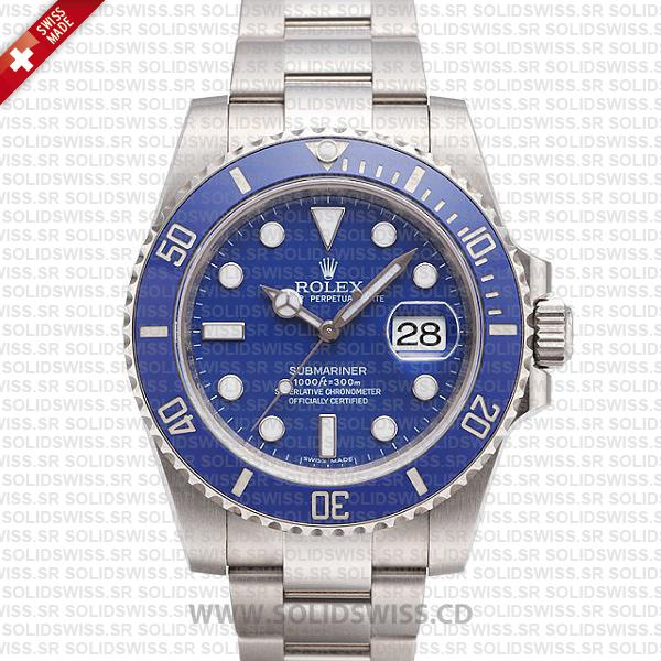 Rolex Submariner Stainless Steel Blue Dial | Solidswiss Replica