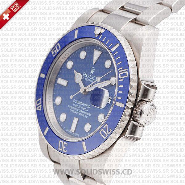 Rolex Submariner Stainless Steel Blue