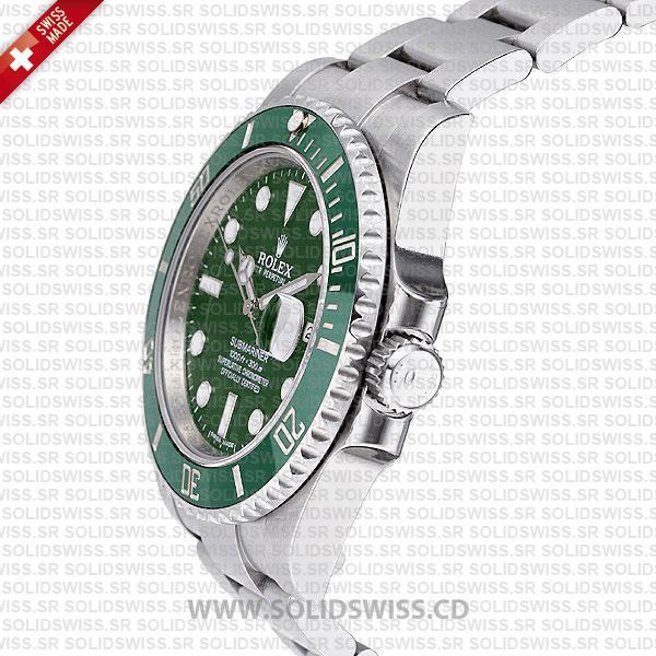 Rolex Submariner Stainless Steel Green