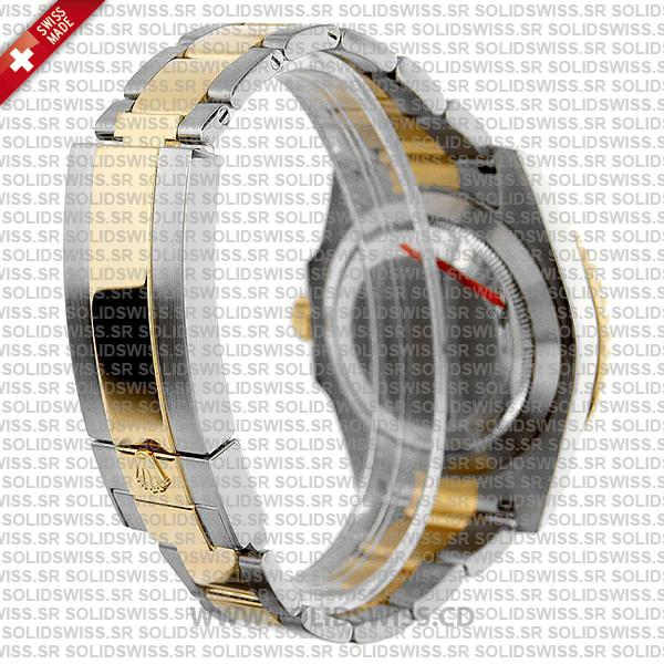 Rolex Submariner 2 Tone 904L Steel Black Dial Swiss Replica Watch