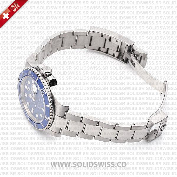 Rolex Submariner Stainless Steel Blue Dial