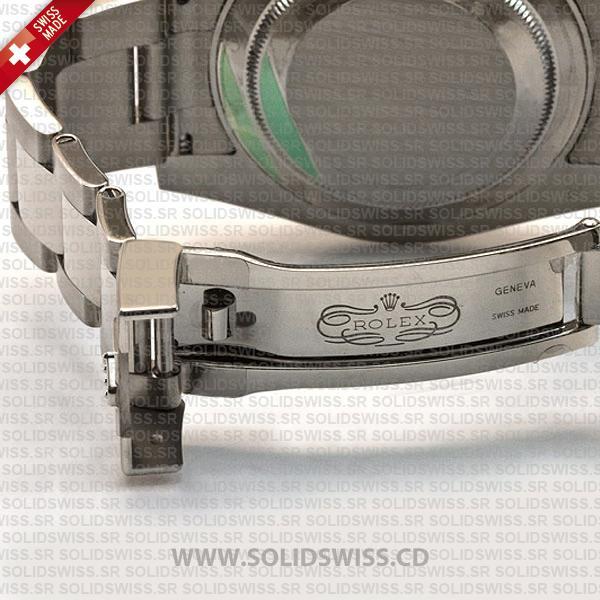 Rolex Submariner 18k White Gold in Oyster Bracelet