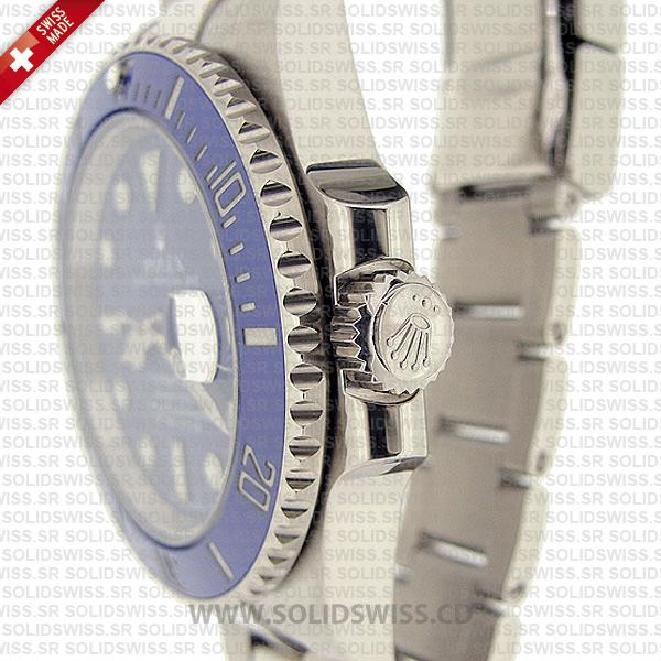 Rolex Submariner Stainless Steel Blue Dial Blue Ceramic