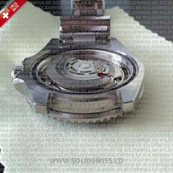 Stainless Steel Blue Dial 904L steel