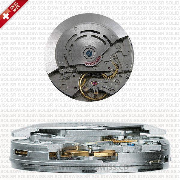 Rolex Daytona 904L Stainless Steel 18k Rose Gold White Dial 40mm