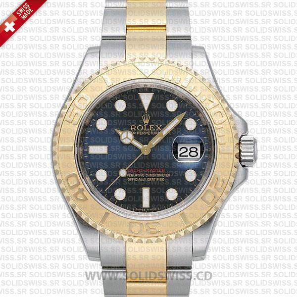 Rolex Yacht-Master Two-Tone Gold Blue Dial | Solidswiss Watch