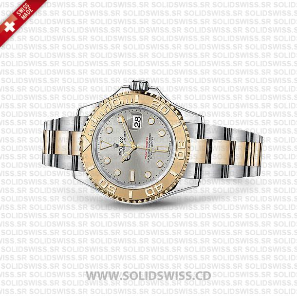 Rolex Yacht-Master Two-Tone 18k Yellow Gold/904L Steel Bracelet 40mm