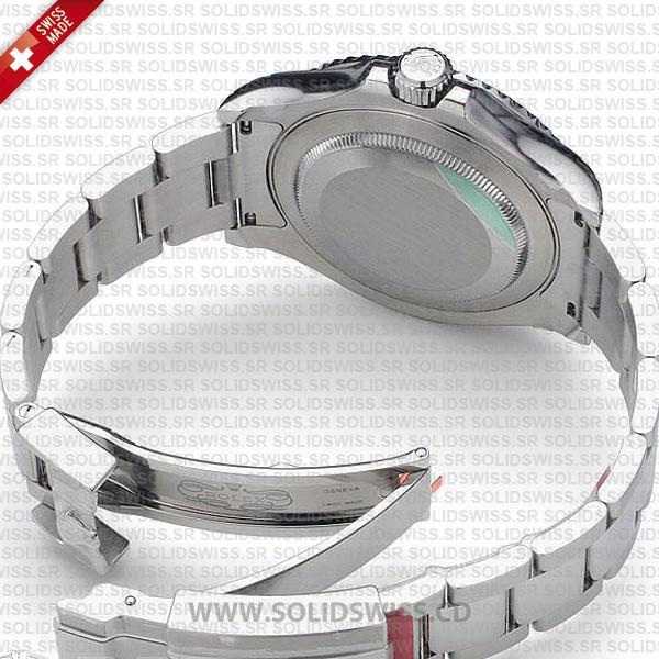 Rolex Yacht-Master Platinum 904L Stainless Steel Blue Dial Oyster Bracelet