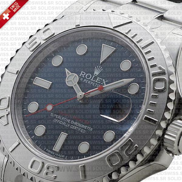Rolex Yacht-Master Stainless Steel Blue Dial 40mm